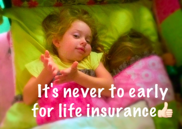 little girl in bed - life insurance from EW Smith Agency